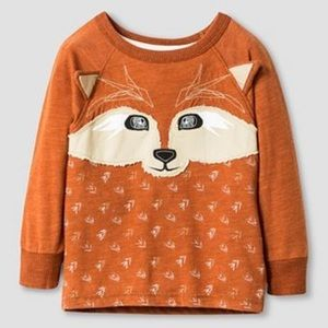 Genuine Kids Toddler Boys 2T Longsleeve Fox Shirt